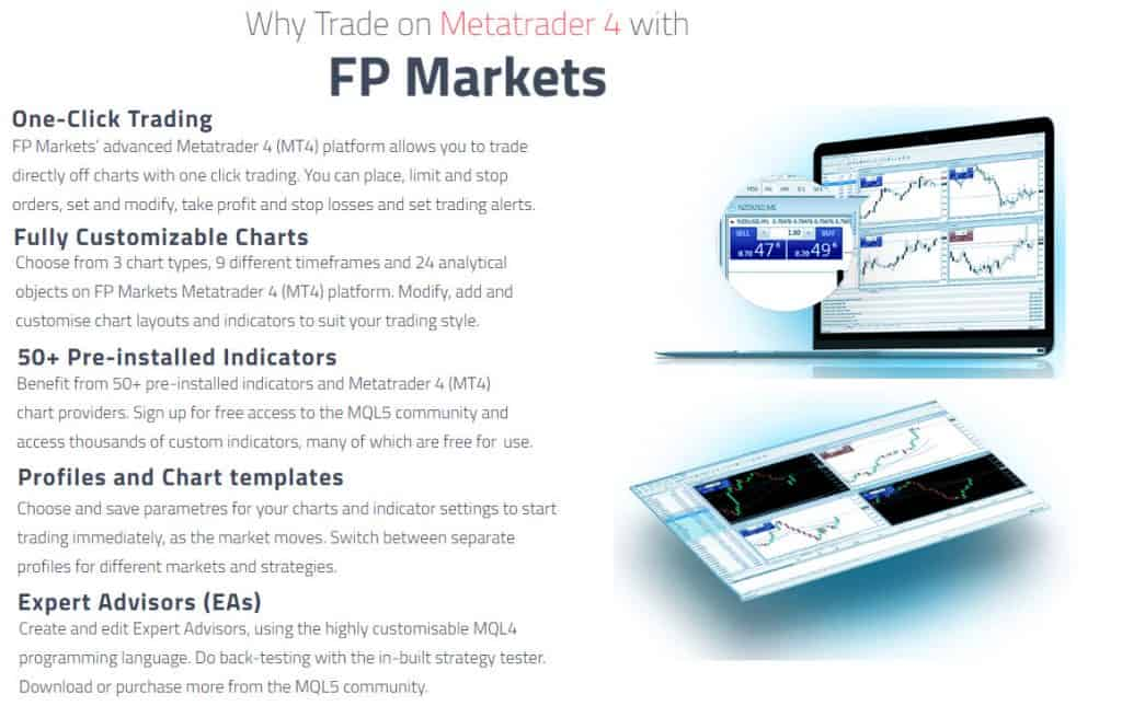 MT4 Features FP Markets