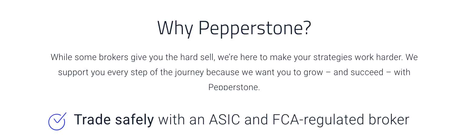 ASIC FCA Regulated Pepperstone vs XTB