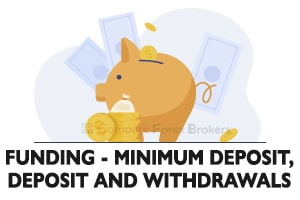Funding Minimum Deposit,-Deposit And Withdrawals